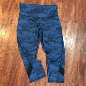 Champion brand cropped workout pants.